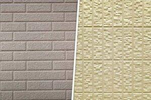 単色塗りで施工されたサイディング外壁
